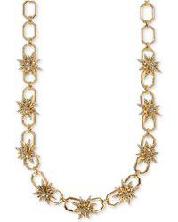 Ivanka Trump - Gold-tone Pavé Starburst Collar Necklace - Lyst