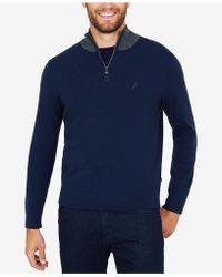 Nautica - Milano Quarter-zip Sweater - Lyst