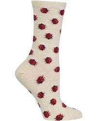 Hot Sox - Ladybug Socks - Lyst