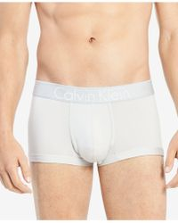 Calvin Klein - Customized Stretch Low-rise Trunks - Lyst