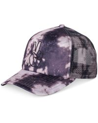 Neff - Peace Acid-wash Embroidered Trucker Hat - Lyst