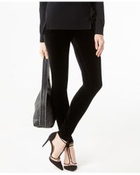INC International Concepts - Curvy Velvet Skinny Pants - Lyst