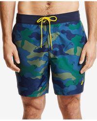65d70185d7e36 Nautica - Camouflage-print Quick-dry 8