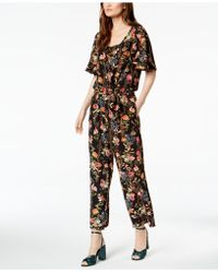 Marella - Koben Floral-print Jumpsuit - Lyst