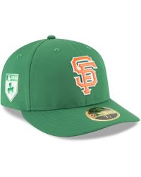 KTZ - San Francisco Giants St. Patty's Day Pro Light Low Crown 59fifty Fitted Cap - Lyst