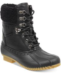 Tommy Hilfiger - Rian Lace-up Winter Boots - Lyst