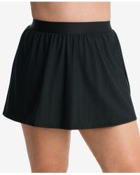 f676e64af51 Miraclesuit - Plus Size Swim Skirt - Lyst