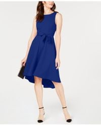 INC International Concepts - I.n.c. Seamed Bodice High-low Dress, Created For Macy's - Lyst