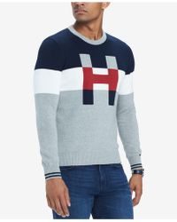 Tommy Hilfiger - H Colorblocked Sweater - Lyst