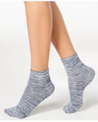 Hue - Super-soft Cropped Socks - Lyst