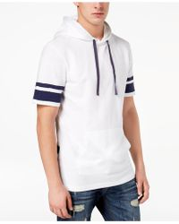 American Rag - Men's Applied Stripe Hoodie - Lyst