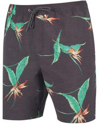 Rip Curl - Central Valley Printed Shorts - Lyst
