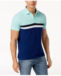 Tommy Hilfiger - Martin Striped Slim Fit Polo, Created For Macy's - Lyst