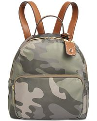 Tommy Hilfiger - Julia Camo Small Dome Backpack - Lyst