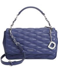 DKNY | Lara Medium Flap Shoulder Bag | Lyst