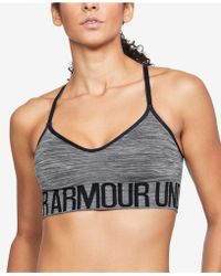 Under Armour - Low-impact Space-dyed Sports Bra - Lyst