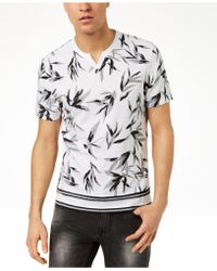 INC International Concepts - Shadow Leaf T-shirt, Created For Macy's - Lyst