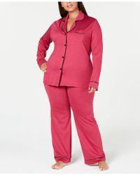 Cosabella - Bella Plus Size Contrast-trim Pajama Set Amore9641p - Lyst