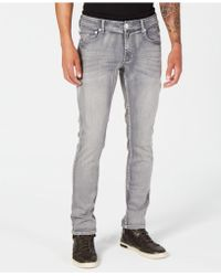 INC International Concepts - Skinny-fit Stretch Gray Jeans, Created For Macy's - Lyst