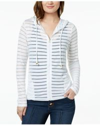 INC International Concepts - I.n.c. Shadow-stripe Front-zip Hoodie, Created For Macy's - Lyst