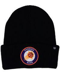 47 Brand - Phoenix Suns Ice Block Cuff Knit Hat - Lyst