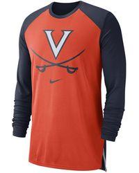 4fd4d0d5b49 Lyst - Nike  elite Shooter 2.0  Dri-fit Long Sleeve Basketball Shirt ...