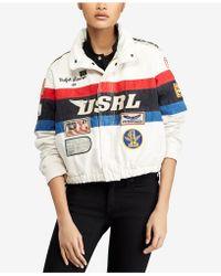 Polo Ralph Lauren - Cotton Racing Jacket - Lyst