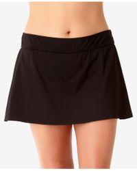 Anne Cole - Plus Size Basic Swim Skirt - Lyst