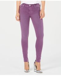 Hudson Jeans - Nico Mid-rrise Ankle Super Skinny In Dusted Orchid - Lyst