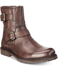 Kenneth Cole Reaction - Drue Leather Boots - Lyst
