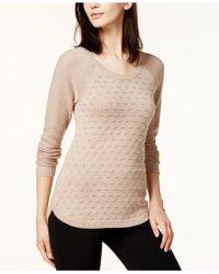 Maison Jules | Metallic-dot Sweater | Lyst