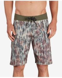"Volcom - Plasm Mod Athletic-fit 20"" Board Shorts - Lyst"