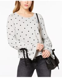Maison Jules - Bell-sleeve Polka-dot Sweater, Created For Macy's - Lyst