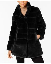 Jones New York | Faux-fur Coat | Lyst