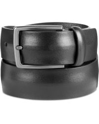 Original Penguin - Men's Convex Leather Belt - Lyst