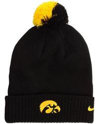 Nike - Iowa Hawkeyes Beanie Sideline Pom Hat - Lyst