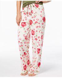 Hue - Rose-print Pyjama Trousers - Lyst