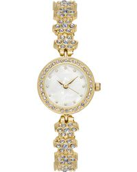 Charter Club - Gold-tone Crystal Bracelet Watch 23mm, Created For Macy's - Lyst