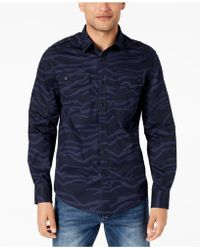 Sean John - Camouflage Utility Shirt, Created For Macy's - Lyst