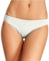 Michael Kors - Swimsuit, Solid Hipster Brief Bottom - Lyst