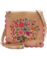 Patricia Nash - Prairie Rose Embroidery Collection Granada Cross-body Bag - Lyst