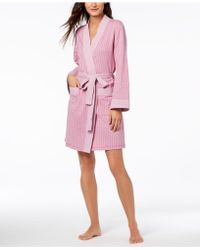 Charter Club - Knit Robe, Created For Macy's - Lyst