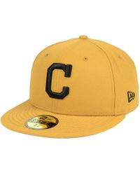 KTZ - Cleveland Indians Reverse C-dub 59fifty Fitted Cap - Lyst