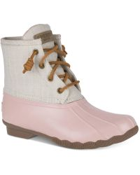 Sperry Top-Sider - Salt Water Duck Booties - Lyst