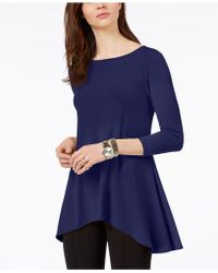 Alfani - Jersey High-low Tunic, Only At Macy's - Lyst