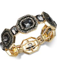 INC International Concepts - I.n.c. Gold-tone Multi-crystal Stretch Bracelet, Created For Macy's - Lyst
