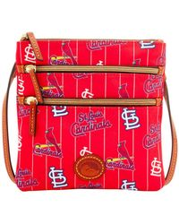 Dooney & Bourke - St. Louis Cardinals Nylon Triple Zip Crossbody - Lyst