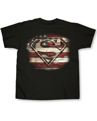 Changes - Superman Branded Wood Graphic T-shirt - Lyst