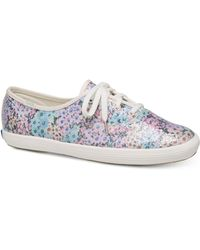 Kate Spade - Keds For Champion Daisy Garden Trainers - Lyst