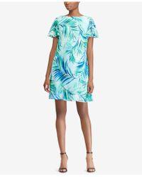 American Living - Printed Dress - Lyst